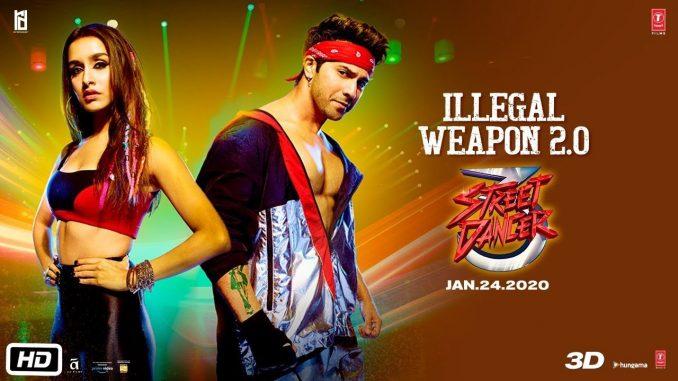 Illegal Weapon 2.O, Illegal Weapon 2.O, Illegal Weapon Song Lyrics, Street Dancer 3 D - Illegal Weapon, Illegal Weapon 2.O - Jasmine Sandalas New Song
