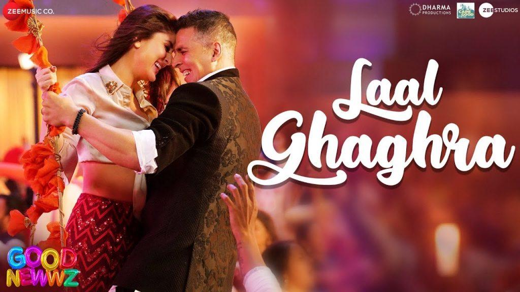 Laal Ghagra Song Download, Billo Tera Ni Laal Ghagra, Lal Ghagra Song Download - Gaanesinlo, Laal Ghagra Download - Good Newwz