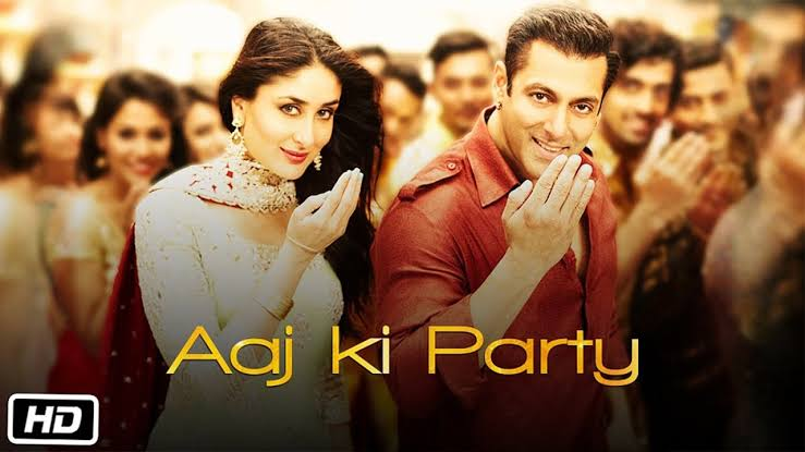 Aaj Ki Party Salman Khan Mp3 Download