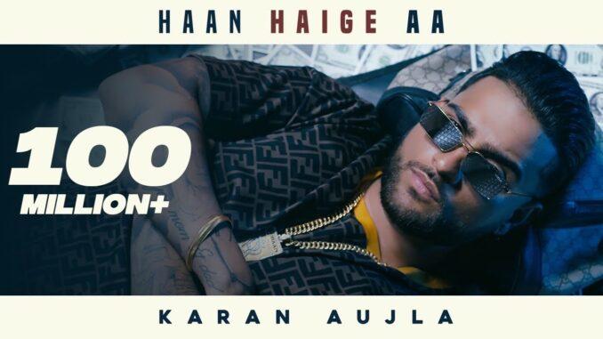 Haan Hagie aa Karan Aujla Mp3 Download