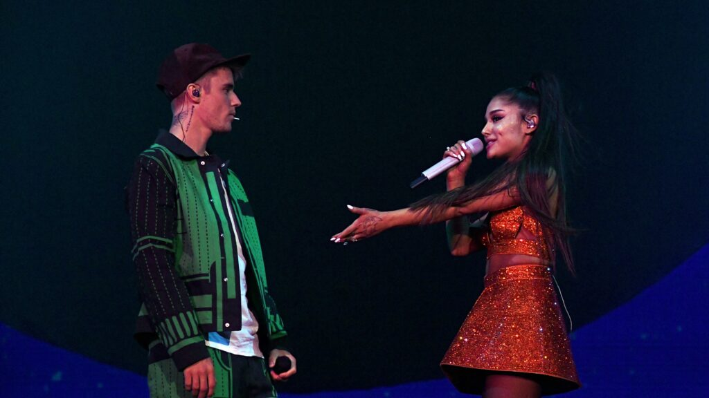 Justin Bieber song, stuck with you song, Justin Bieber, Ariana Grande,